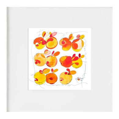 La fruita prohibida - la fruta prohibida|Ilustraciónderichard martin| Compra arte en Flecha.es