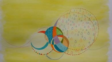 Lluvia bendita|PinturadeANALIA MALOSETTI| Compra arte en Flecha.es