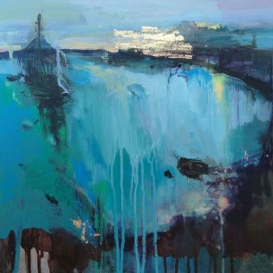 Evening Promenade 3|PinturadeMagdalena Morey| Compra arte en Flecha.es