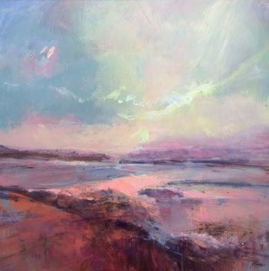 Dawn Mists|PinturadeMagdalena Morey| Compra arte en Flecha.es