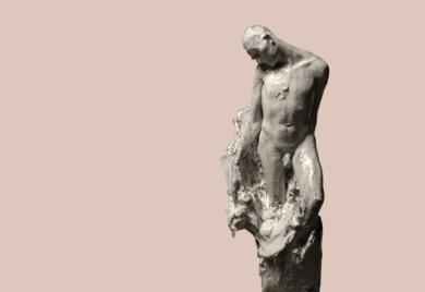 White Man|EsculturadeÁlvaro de Matías| Compra arte en Flecha.es