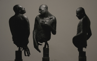 Sufferas inna Babylon|EsculturadeÁlvaro de Matías| Compra arte en Flecha.es