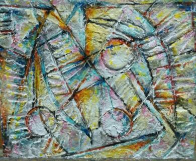 El movimiento de las esferas|Pinturadexisco| Compra arte en Flecha.es