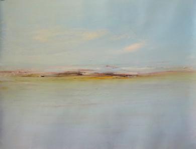 Entre el mar y el cielo|PinturadeEsther Porta| Compra arte en Flecha.es