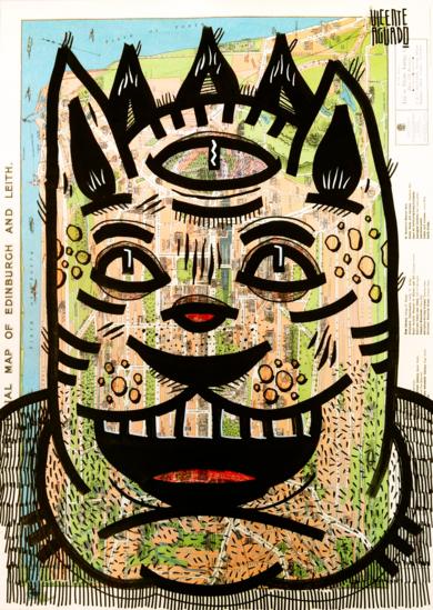 CAT EMPIRE|DibujodeVicente Aguado| Compra arte en Flecha.es