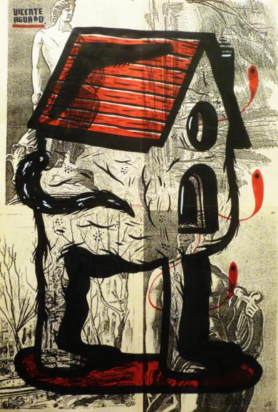 DOG HOUSE I|DibujodeVicente Aguado| Compra arte en Flecha.es
