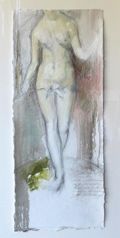 """Eva en el paraiso""|DibujodeCarmen Roger| Compra arte en Flecha.es"