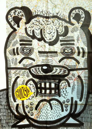 GUILTY|DibujodeVicente Aguado| Compra arte en Flecha.es