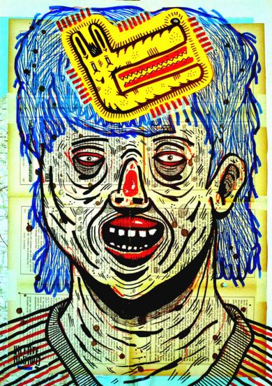 MAGONIA PASSPORT|DibujodeVicente Aguado| Compra arte en Flecha.es