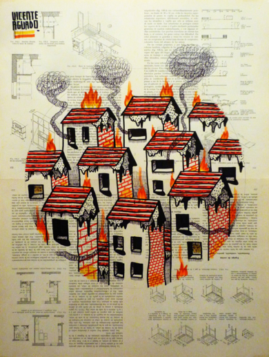 MOURNING PALACE|DibujodeVicente Aguado| Compra arte en Flecha.es
