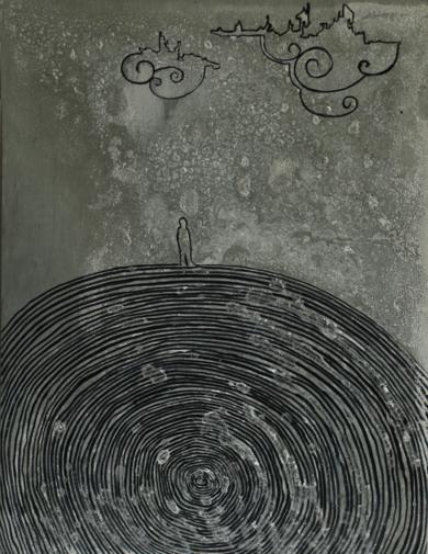Momentos (in)conscientes V|DibujodeAlejandro Ontiveros Robles| Compra arte en Flecha.es