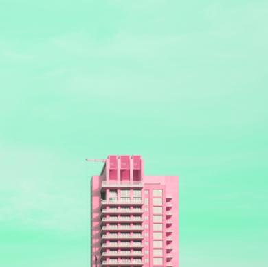 Pink Dubai|FotografíadeÁlvaro Torres| Compra arte en Flecha.es