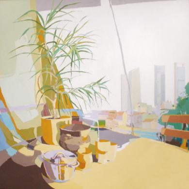 Tarros y torres|PinturadeJavier AOIZ ORDUNA| Compra arte en Flecha.es