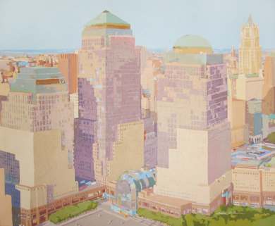 World Trade Center|PinturadeJavier AOIZ ORDUNA| Compra arte en Flecha.es