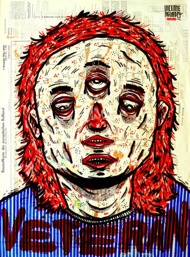 VETERAN|DibujodeVicente Aguado| Compra arte en Flecha.es