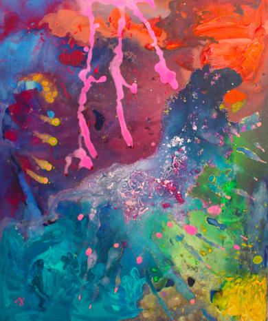 Estelas.|PinturadeÁngeles Romo| Compra arte en Flecha.es