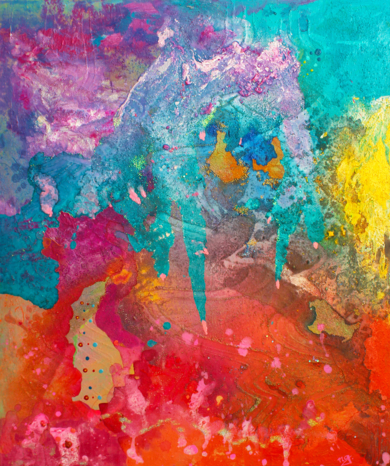 Lluvia ácida.|PinturadeÁngeles Romo| Compra arte en Flecha.es