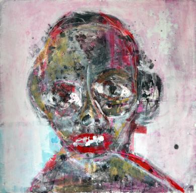 Sin título|PinturadeAaron Bueso| Compra arte en Flecha.es