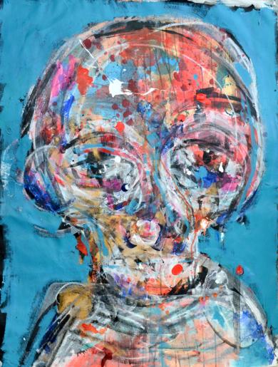 Sin Titulo|PinturadeAaron Bueso| Compra arte en Flecha.es