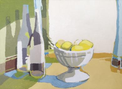 Bodegón con limones|PinturadeJavier AOIZ ORDUNA| Compra arte en Flecha.es