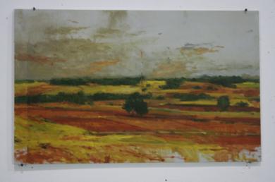 Alarcón N3|PinturadeCalo Carratalá| Compra arte en Flecha.es