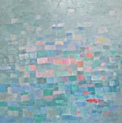 Estructura sensible|PinturadeGuillermo Serrano de Entrambasaguas| Compra arte en Flecha.es
