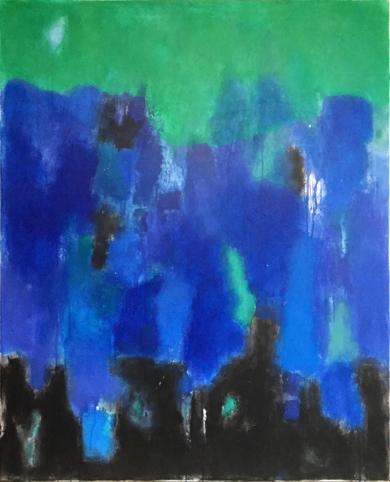 Blue sea|PinturadeLuis Medina| Compra arte en Flecha.es