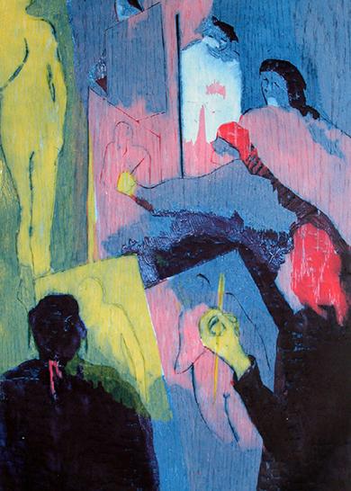 El estudio I|Obra gráficadeJenifer Carey| Compra arte en Flecha.es