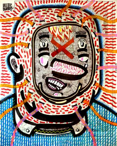 PORNHUB + DORITOS|DibujodeVicente Aguado| Compra arte en Flecha.es