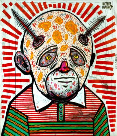 Mr. JOHN KEEL 1.0|DibujodeVicente Aguado| Compra arte en Flecha.es