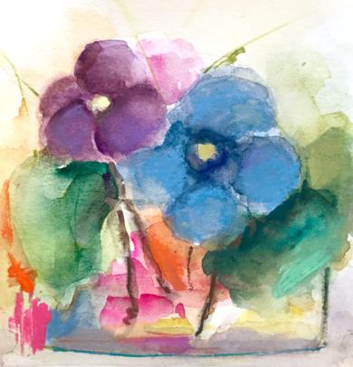 Lugares y Jardines Imaginarios XX|PinturadeTeresa Muñoz| Compra arte en Flecha.es