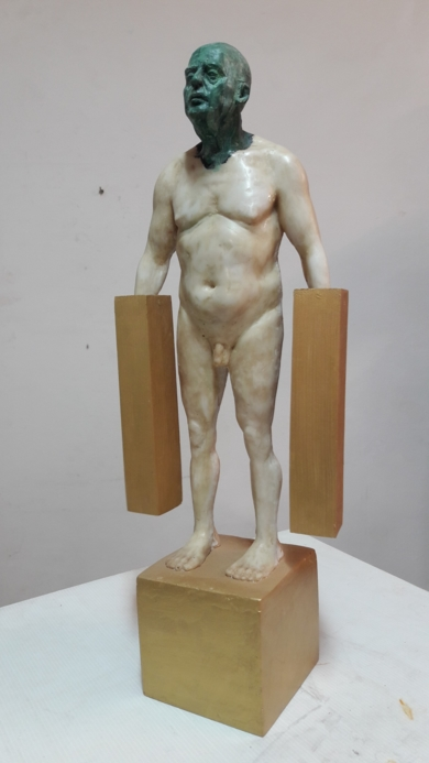 Hommo Aurum I|EsculturadeFrancisco Hernández Díaz| Compra arte en Flecha.es