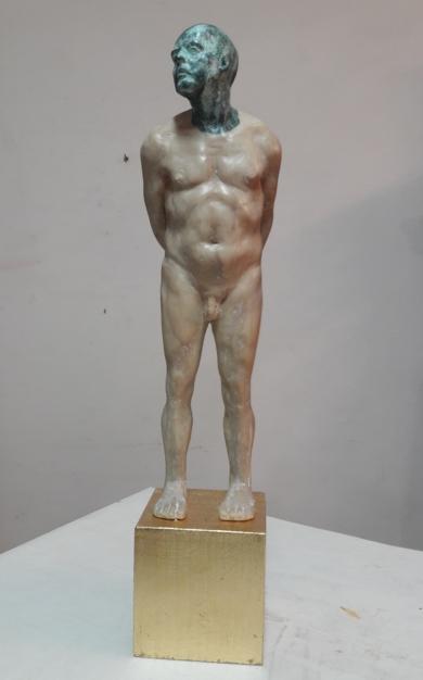 Hommo Aurum II|EsculturadeFrancisco Hernández Díaz| Compra arte en Flecha.es