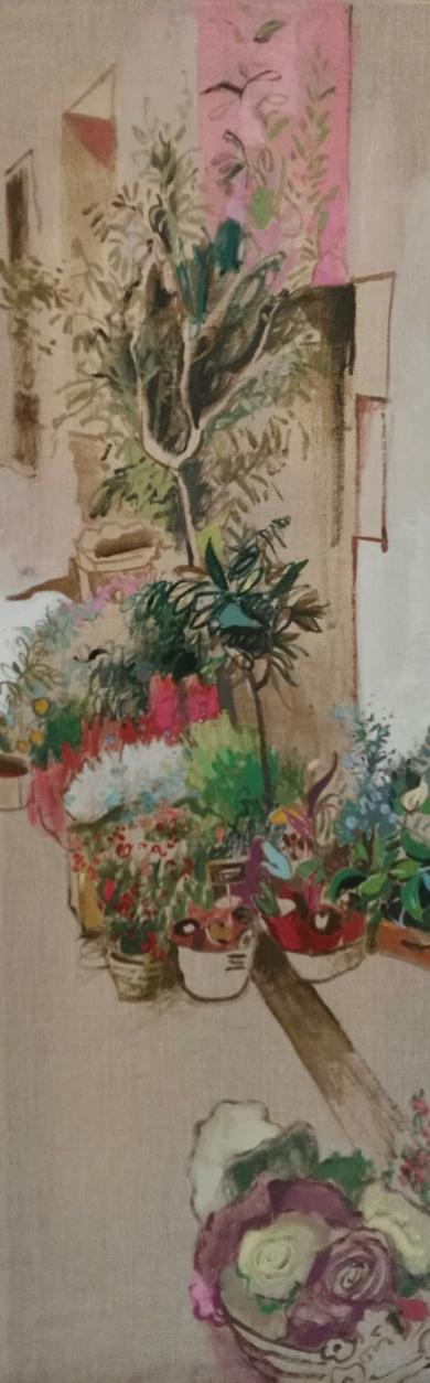 PATIO|PinturadeCarlota Rios| Compra arte en Flecha.es