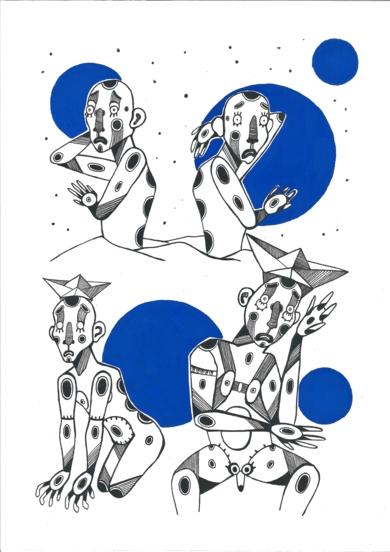 No|DibujodeLucas Zapardiel| Compra arte en Flecha.es