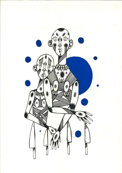 Todo|DibujodeLucas Zapardiel| Compra arte en Flecha.es