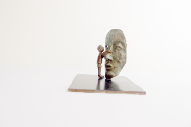 Curiosidad - I|EsculturadeAna Valenciano| Compra arte en Flecha.es