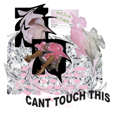 Can't touch the money|CollagedeNatalia Garcia| Compra arte en Flecha.es