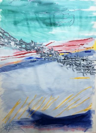 VERDE|PinturadeIraide Garitaonandia| Compra arte en Flecha.es