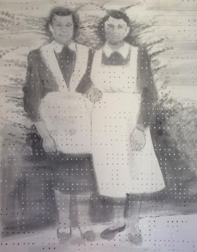 Sábana 2|PinturadeAlison South| Compra arte en Flecha.es