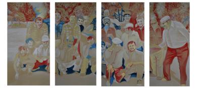 Los Olvidados|PinturadeAlison South| Compra arte en Flecha.es