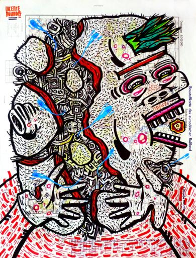 LIBER NULL|DibujodeVicente Aguado| Compra arte en Flecha.es
