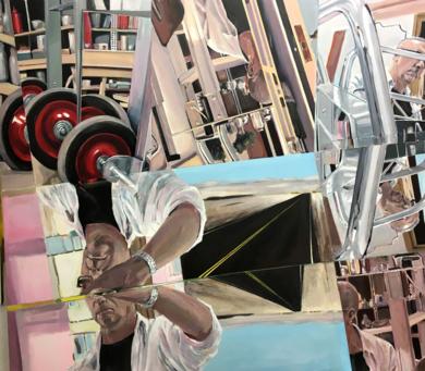 Autoretrato|PinturadeFernando Herlop| Compra arte en Flecha.es