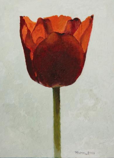Tulip IV|PinturadeMiguel Ortega Mesa| Compra arte en Flecha.es