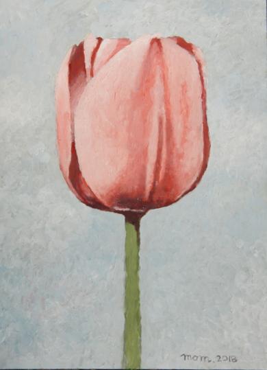 Tulip  V|PinturadeMiguel Ortega Mesa| Compra arte en Flecha.es