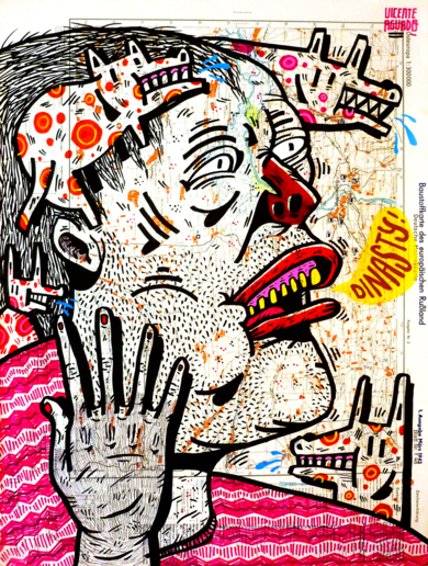 DINASTY|DibujodeVicente Aguado| Compra arte en Flecha.es