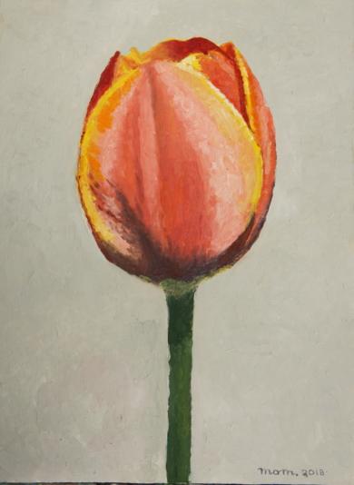 Tulip VI|PinturadeMiguel Ortega Mesa| Compra arte en Flecha.es