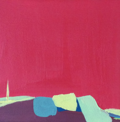 Horizonte V|PinturadeLeticia Gª Marañón| Compra arte en Flecha.es