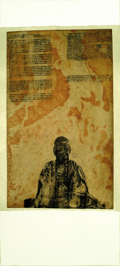 Meditación|Obra gráficadePrado de Fata| Compra arte en Flecha.es