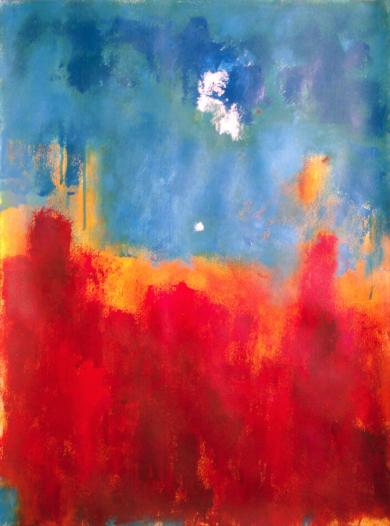 Sky and fire|PinturadeLuis Medina| Compra arte en Flecha.es